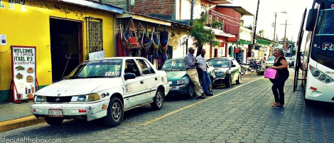 Taxis and Strange Men in Rivas