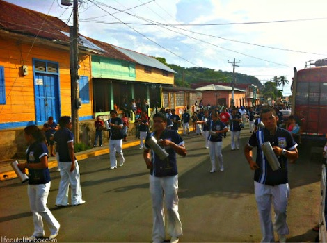 Celebrating San Juan Bautista in San Juan del Sur