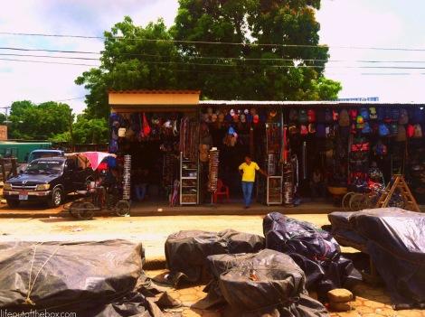 Shopping in Rivas, Nicaragua