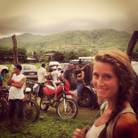 Snap Shot of My Mind in Nicaragua