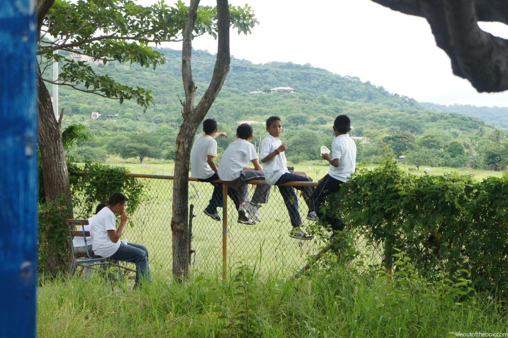 Recess in Nicaragua!!