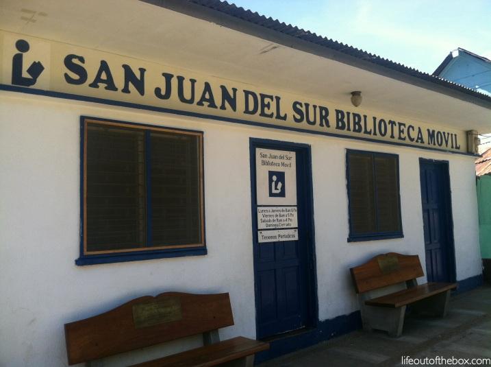 The Mobile Library in San Juan del Sur, Nicaragua