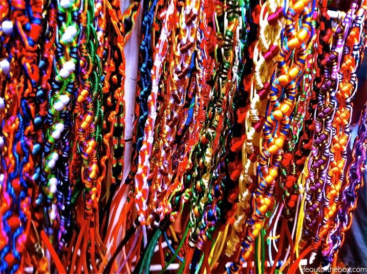 Handmade Nicaraguan Bracelets in Masaya
