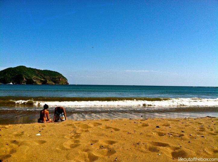 Fun in the sun in San Juan del Sur, Nicaragua
