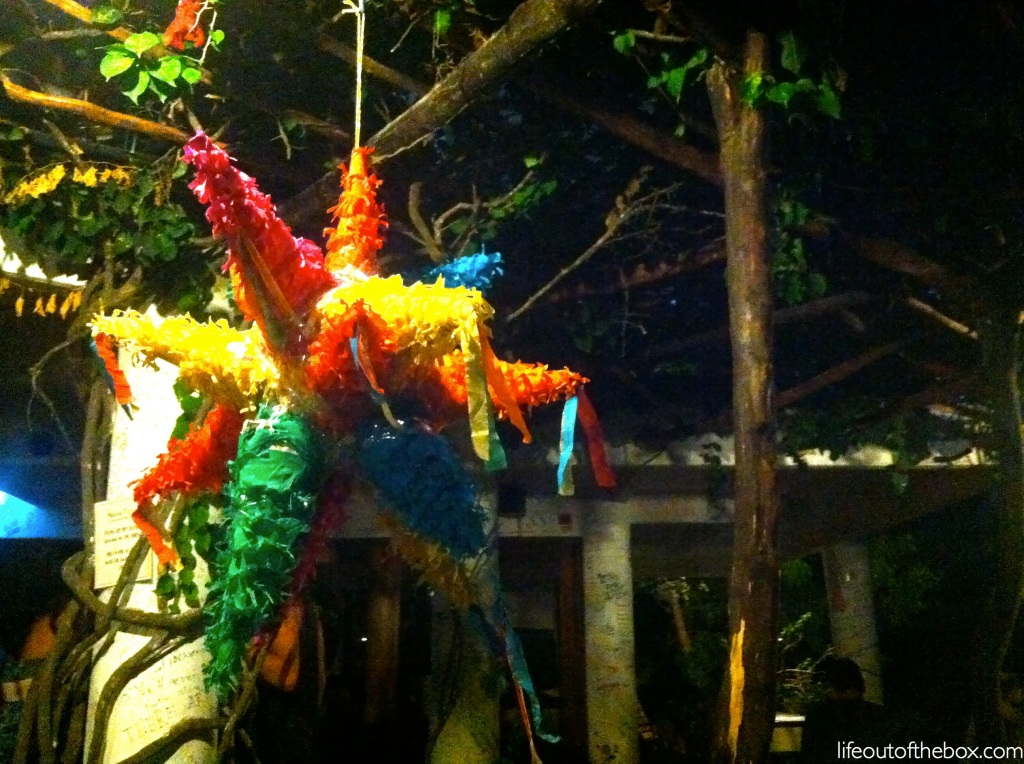 Fiesta time with a pinata!