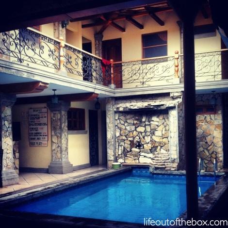Oasis in Granada, Nicaragua