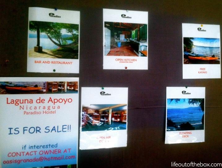 Oasis Hostel in Granada, Nicaragua