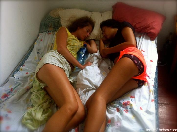 Quinn and Caira Sleeping