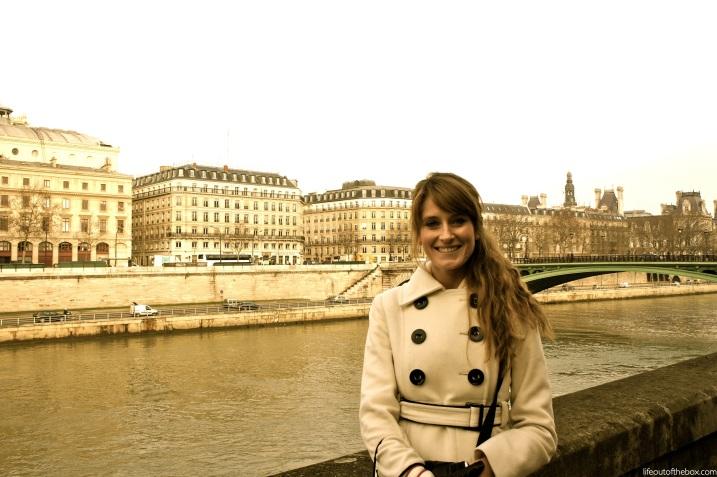 Quinn in Paris, France