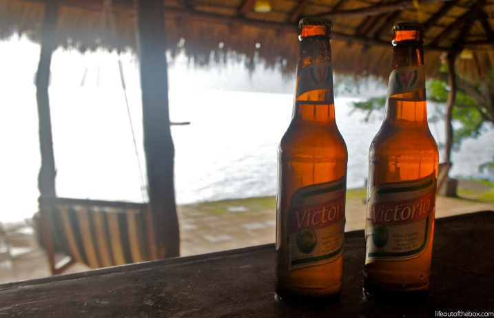 Life Out of the Box Bar in Nicaragua