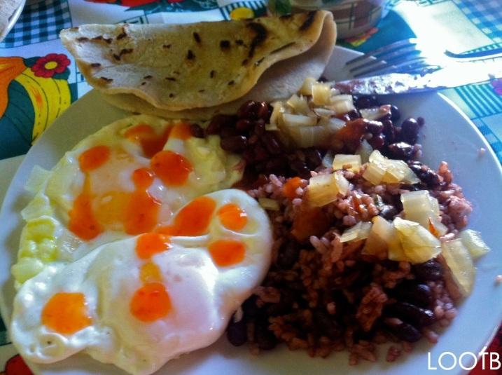 LOOTB Breakfast in Masaya