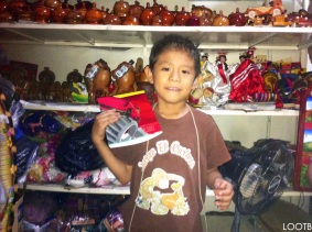 LOOTB give a gift to Randy in Nicaragua