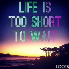 LOOTB Life Out of the Box Life is too short to wait