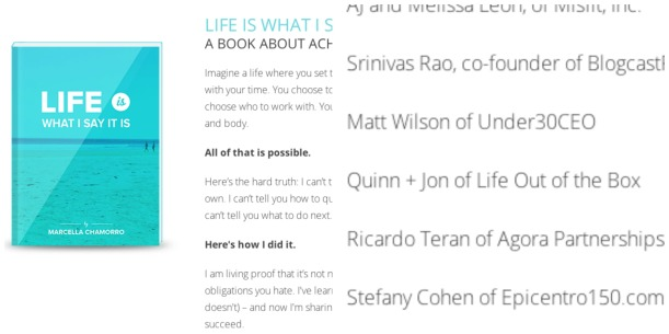 "Life Out of the Box in ""Life Is What I Say It Is"" by Marcella. LOOTB Press"