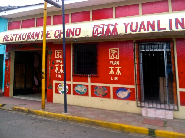Chinese Food in Nicaragua