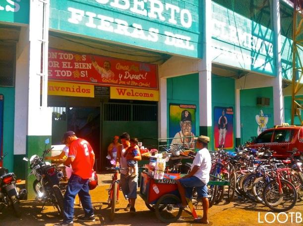 LOOTB Baseball in Masaya, Nicaragua