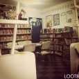 The inside of the Library