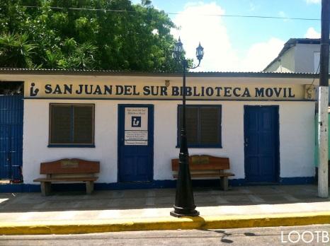 The San Juan del Sur Mobile Library!