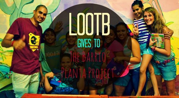LOOTB Gives to BPP in San Juan del Sur, Nicaragua