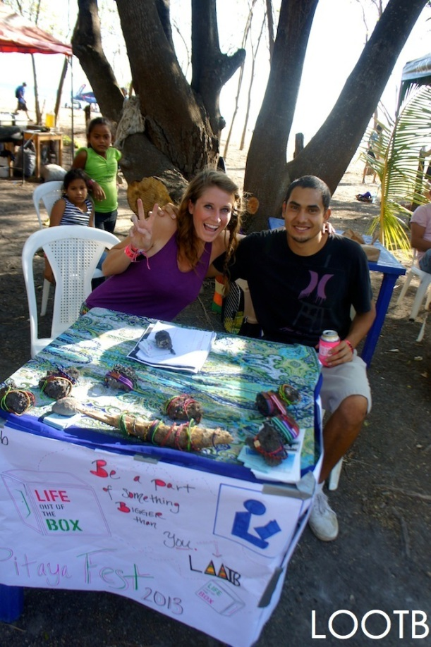 LOOTB at the Pitaya Festival in Hermosa Beach, Nicaragua