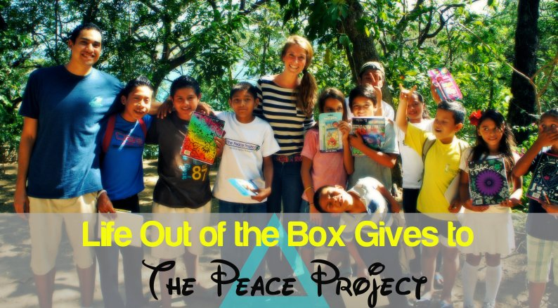 Life Out of the Box give to the peace project in laguna de apoyo, nicaragua LOOTB
