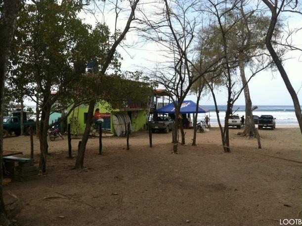 LOOTB Camping on Maderas Beach, Nicaragua