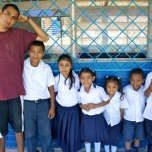 Jonathon hanging out at El Baston, a rural school 15 mins outside of San Juan del Sur, Nicaragua