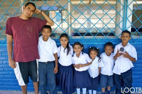 Jonathon hanging out at El Baston, a rural school 15 mins outside of San Juan del Sur, Nicaragua