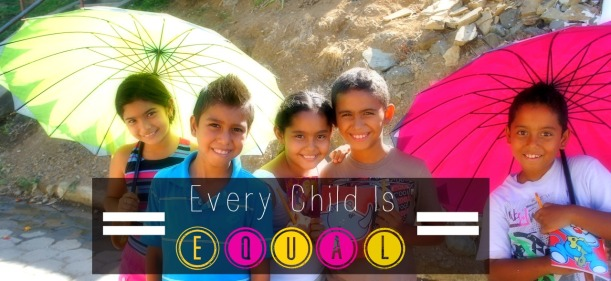 LOOTB Gives to Kids in Central America. Every Child is Equal.