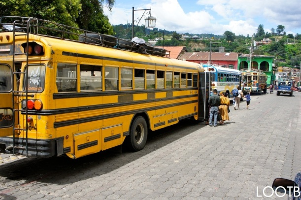 Life Out of the Box traveling from Antigua to Panajanchel Guatemala