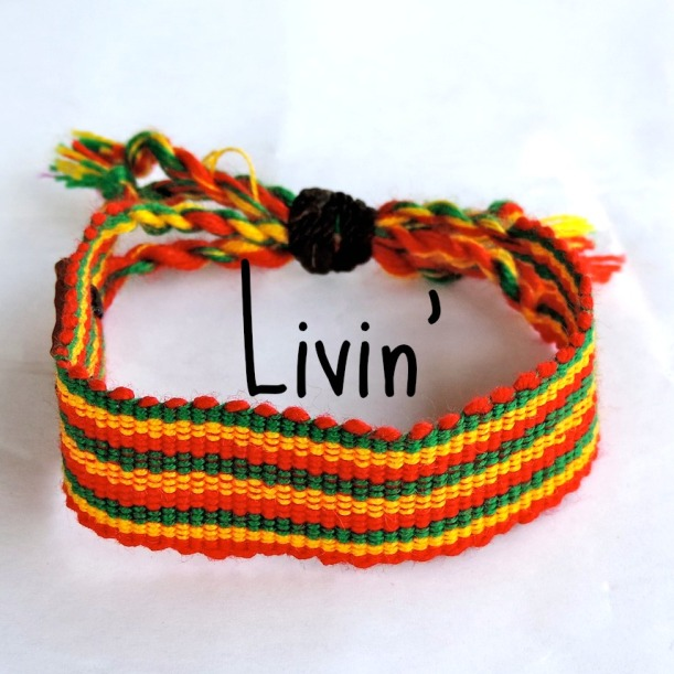 Life Out of the Box bracelet Livin' available on lootb.com
