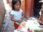 LOOTB gives to San Jorge preschool with Mayan Families in Guatemala.