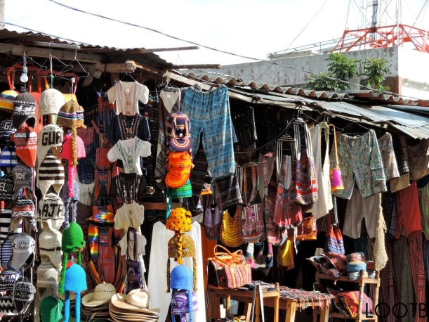 Hunting for products on Satander in Panajachel, Guatemala. Life Out of the box. LOOTB.