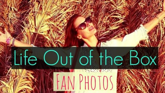 Life Out of the Box fan photos. LOOTB. Alessandra Ambrosio.