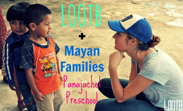 life out of the box gives to mayan families preschool in panajachel