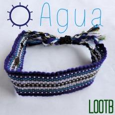Life Out of the Box bracelet Agua available on lootb.com. LOOTB.