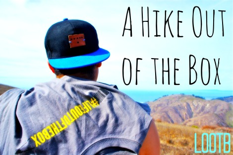 Life Out of the Box in Big Sur, California. A Hike Out of the Box.