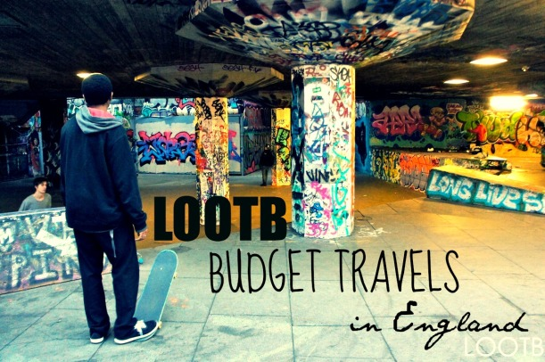LOOTB budget travels in england
