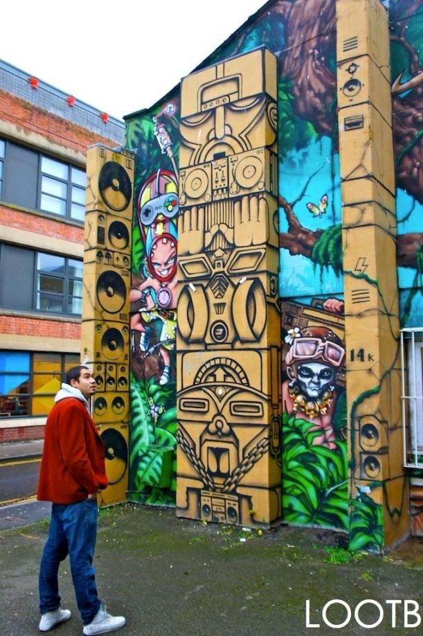 LOOTB in Artsy Brighton, England